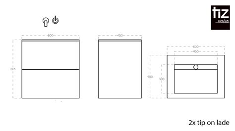 badkamermeubel tekening badkamermeubel joure design badkamermeubels tiz design