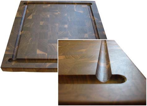 butcher block countertops  juice grooves  grothouse