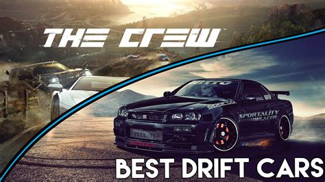 Top 5 Best Cars For Drifting In The Crew! (ps4