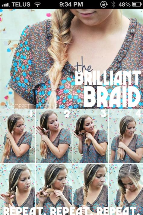 easy  minutes hairstyles tutorials pretty designs