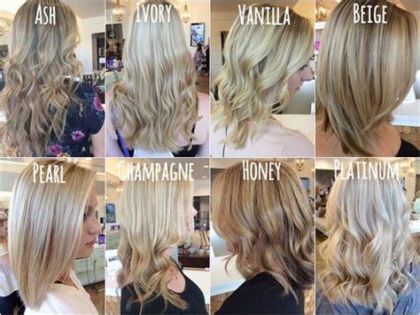 Best 25+ Different Shades Of Blonde Ideas On Pinterest