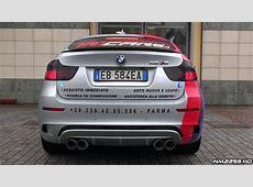 BMW X6M BiTurbo with Custom Exhaust Revving YouTube