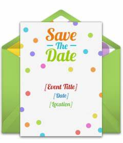Birthday Save The Date Cards – gangcraft