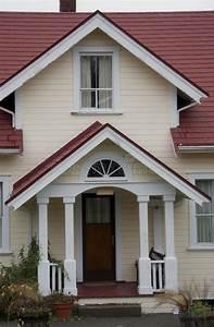 Porche Entrée Maison : porche avant et entr e de maison d 39 artisan type image ~ Premium-room.com Idées de Décoration
