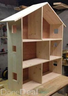 simple wood doll house plans plans diy   log