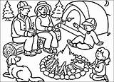 Camping Coloring Pages Camp Summer Tent Drawing Sheets Printable Worksheets Colouring Campfire Preschool Clipart Putting Scout Print Drawings Susquehanna Valley sketch template