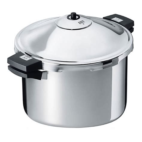 pressure cooker rikon kuhn duromatic hotel cookers german grips kitchen cook stainless steel 28cm quart canner stockpot pots pans does