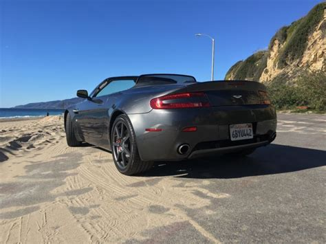 electric and cars manual 2008 aston martin vantage lane departure warning find used 2008 aston martin vantage 2 door convertible in loomis california united states for