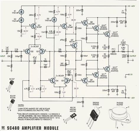 Power Amplifier With Electronic
