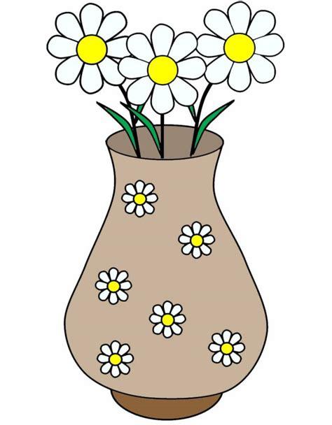 disegno  vaso  margherite  colori  bambini disegnidacolorareonlinecom