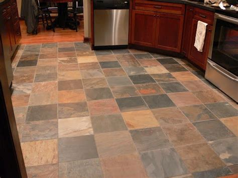 slate tile kitchen floor great colors home