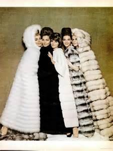 Vintage Fur Coat Ads
