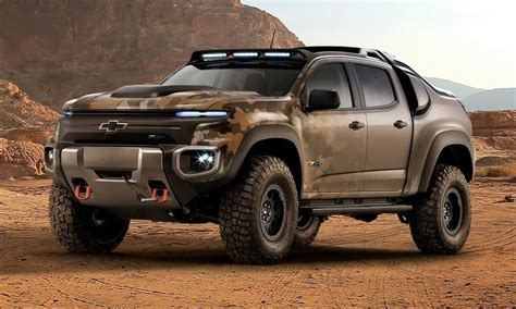 chevy colorado zh concept  hydrogen cars cool