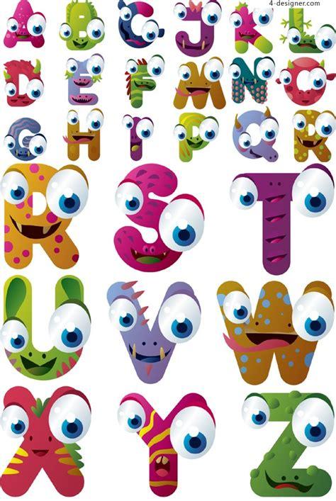 cartoon alphabet font images cute cartoon alphabet