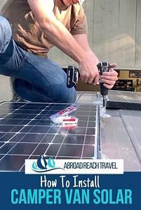 Installing Van Solar Power