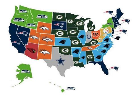 map shows  nfl team  state thinks  win