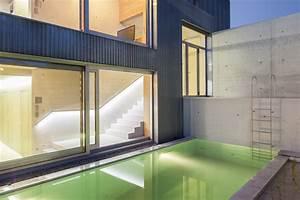 Terrasse Am Hang : leben am hang moderne einfamilienh user ~ Lizthompson.info Haus und Dekorationen