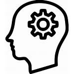 Icon Svg Brain Mind Head Onlinewebfonts