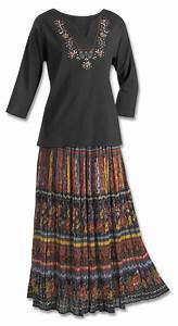 Crinkle Broomstick Skirt Dresses Skirts Fashion