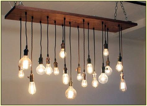 Diy Edison Chandelier by Best 25 Edison Bulb Chandelier Ideas On