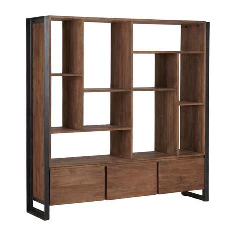 moderne boekenkast hout d bodhi fendy brede boekenkast van hout onlinedesignmeubel