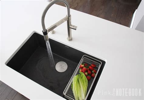 no water from kitchen faucet thinking about the blanco silgranit sink pink