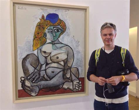 pablo picasso femme nue au bonnet turque picture of