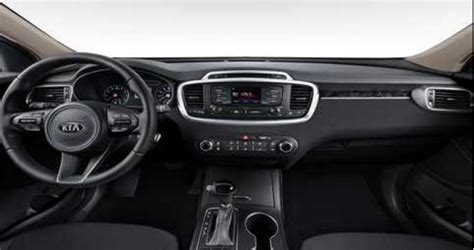 kia sorento interior  exterior color options
