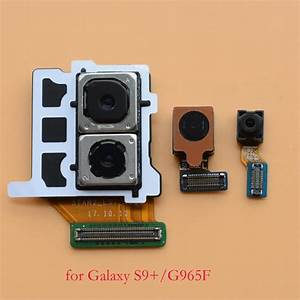 New original back rear big camera facing front camera Iris ...
