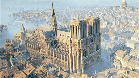 ubisoft offers assassin s creed unity for free in support of notre dame