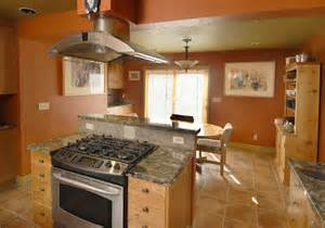 range in kitchen island remarkable kitchen island stove oven with broan island mount range also oval oak pedestal
