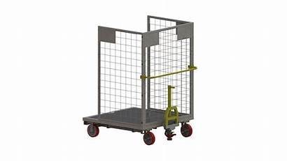 Order Picker Carts Aluminum Deck National Warehouse