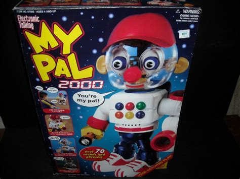 pal  electronic interactive talking robot toy ebay