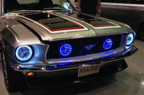 new classic car headlight makeover products debut at scrapin the coast 12 volt news
