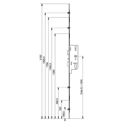 serrure 5 points 224 cylindre automatique t 234 ti 232 re 16 mm