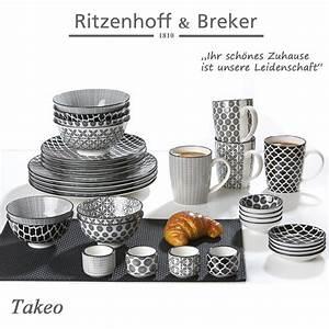 Ritzenhoff Und Breker Fabrikverkauf : ritzenhoff breker speiseteller set takeo 4 teilig 26 5 cm durchmesser porzellangeschirr ~ Buech-reservation.com Haus und Dekorationen