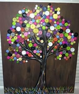 Bilder Mit Knöpfen : button tree das mach ich auch pinterest bastelei basteln und basteln mit kn pfen ~ Frokenaadalensverden.com Haus und Dekorationen
