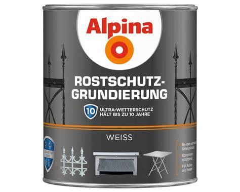 Rostschutz Metall Im Aussenbereich Schuetzen by Alpina Rostschutz Grundierung Zuverl 228 Ssiger Schutz Vor