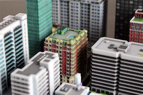 build  mini city   printing gadgetsin