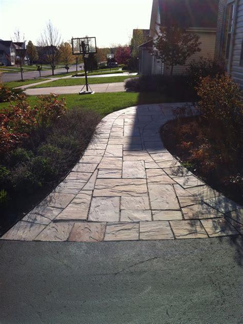 Brick and Natural Stone Paver Walkways | Landscape Design
