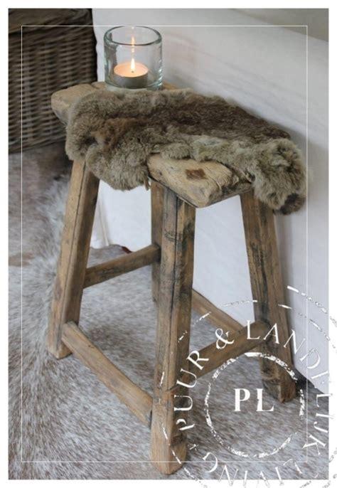 oude houten krukjes landelijke stoelen banken krukjes