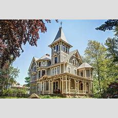 Victorian Gothic Mansion With Whimsical Secrets Asks $525k
