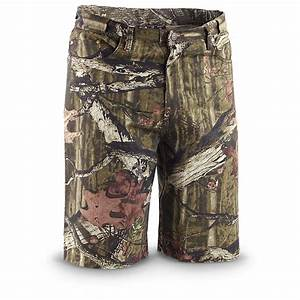 Guide Gear U00ae Expandable Camo Jeans  Mossy Oak Break
