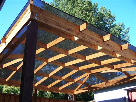 wooden structure patio deck cover ideas homesfeed