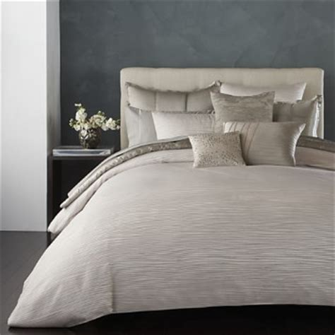 donna karan bedding bed bath and donna karan reflection silver duvet covers bloomingdale 39 s