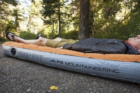 Alps Mountaineering Rechargeable Air Bed by Alps Mountaineering Rechargeable Air Bed Review