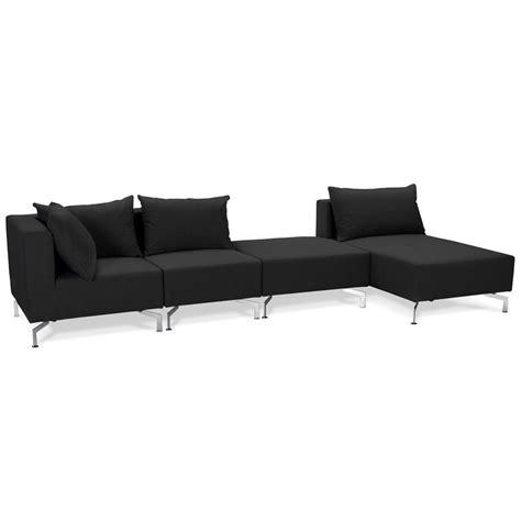 canape voltaire grand canapé d 39 angle voltaire xl noir canapé modulable