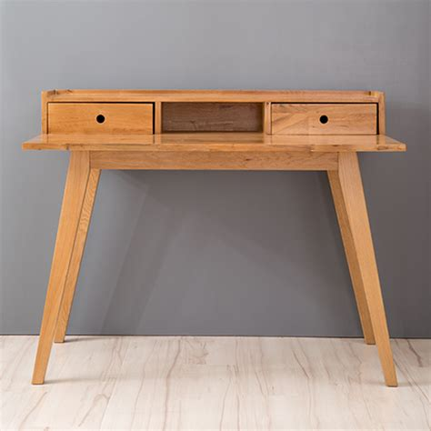 unfinished oak writing desk japanese white oak solid wood desk with drawers nordic