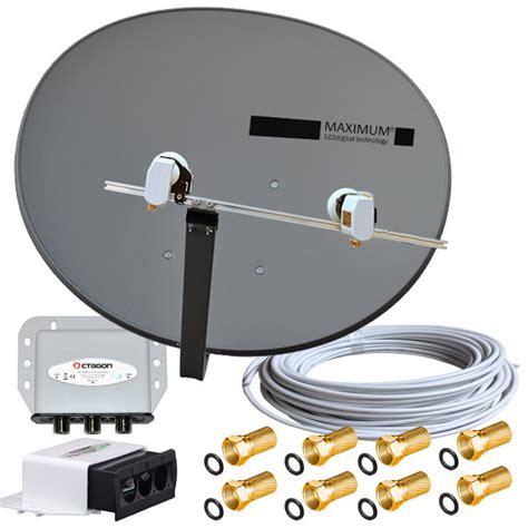 sat antenne einstellen t 220 rksat astra voreingestellt sat komplett anlage maximum lnb kabel diseqc ebay