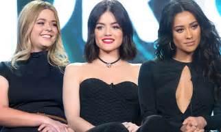 Pretty Little Liars' Shay Mitchell, Lucy Hale and Sasha ...